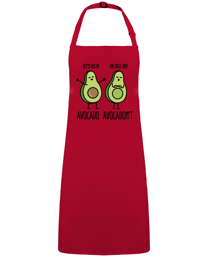 Delantal Sin Bolsillo Avocado avocadont por  LaundryFactory
