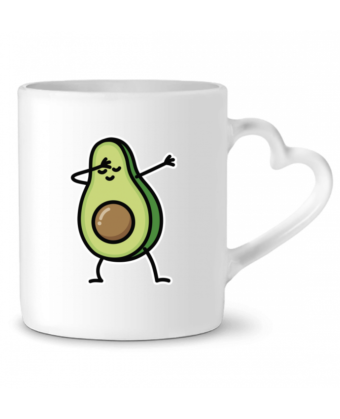 Taza Corazón Avocado dab por LaundryFactory