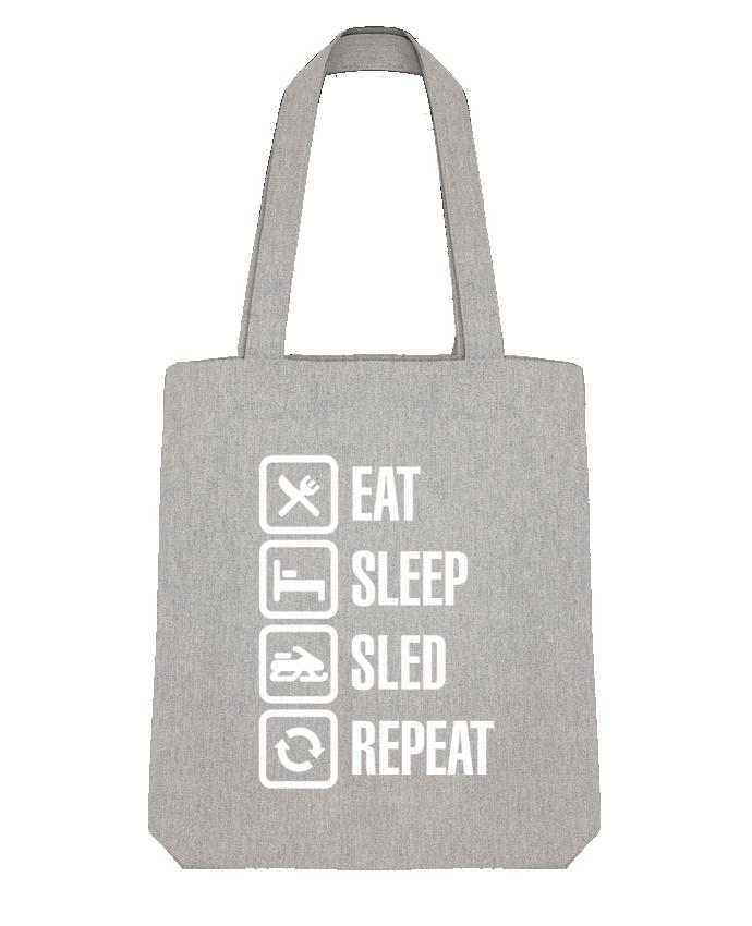 Bolsa de Tela Stanley Stella Eat, sleep, sled, repeat por LaundryFactory