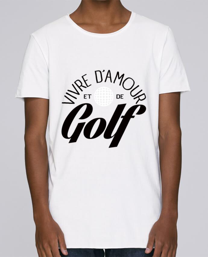 Camiseta Hombre Tallas Grandes Stanly Skates Vivre d'Amour et de Golf por Freeyourshirt.com