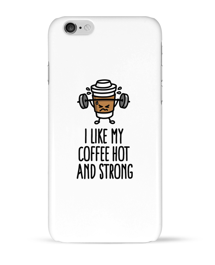 Carcasa  Iphone 6 I like my coffee hot and strong por LaundryFactory