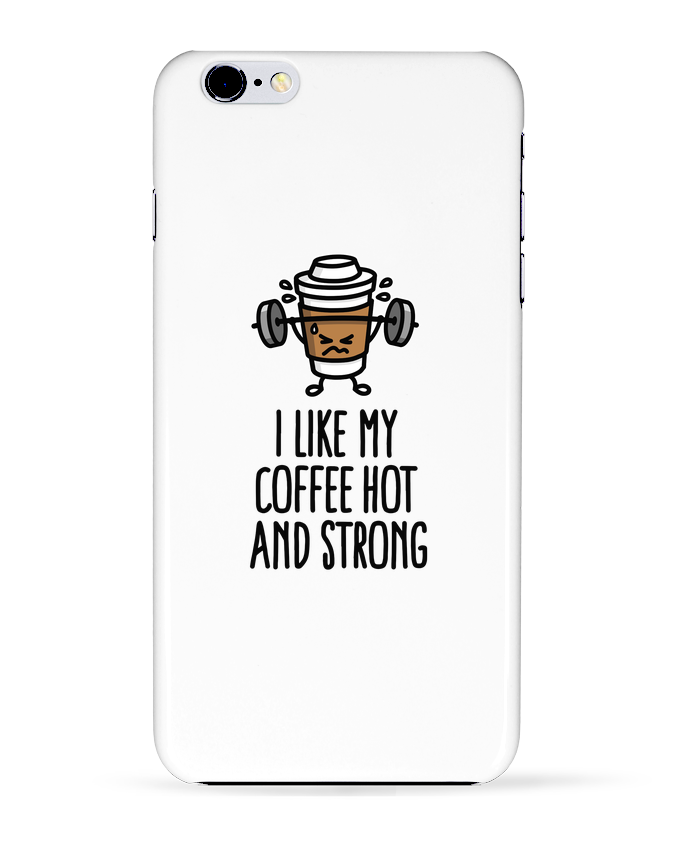 Carcasa Iphone 6+ I like my coffee hot and strong de LaundryFactory