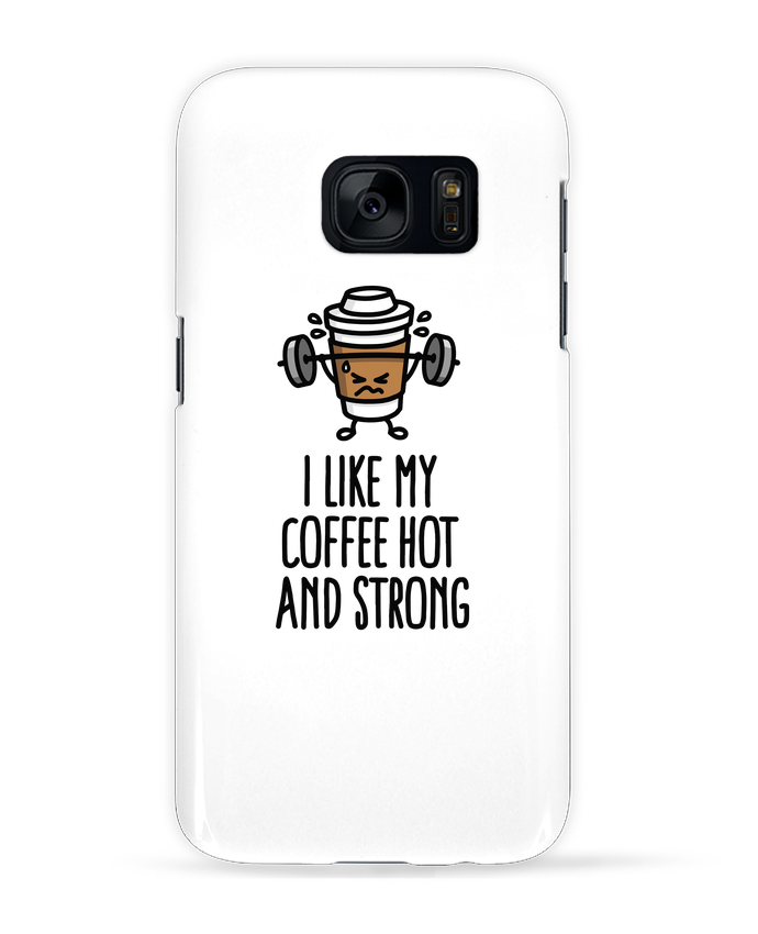 Carcasa Samsung Galaxy S7 I like my coffee hot and strong por LaundryFactory