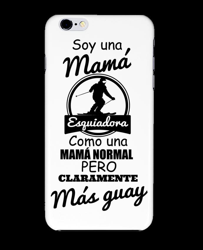 Carcasa Iphone 6+ Mamá esquiadora de tunetoo