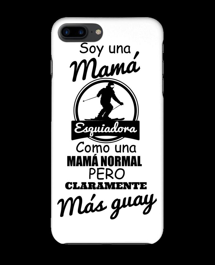 Carcasa Iphone 7+ Mamá esquiadora por tunetoo