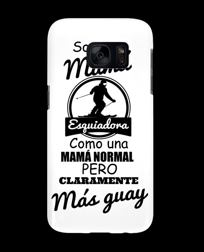 Carcasa Samsung Galaxy S7 Mamá esquiadora por tunetoo