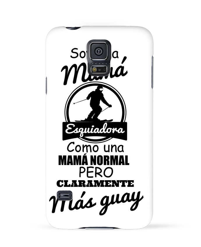 Carcasa Samsung Galaxy S5 Mamá esquiadora por tunetoo
