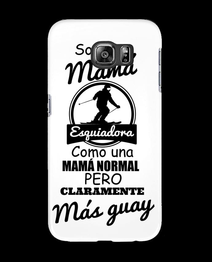 Carcasa Samsung Galaxy S6 Mamá esquiadora - tunetoo