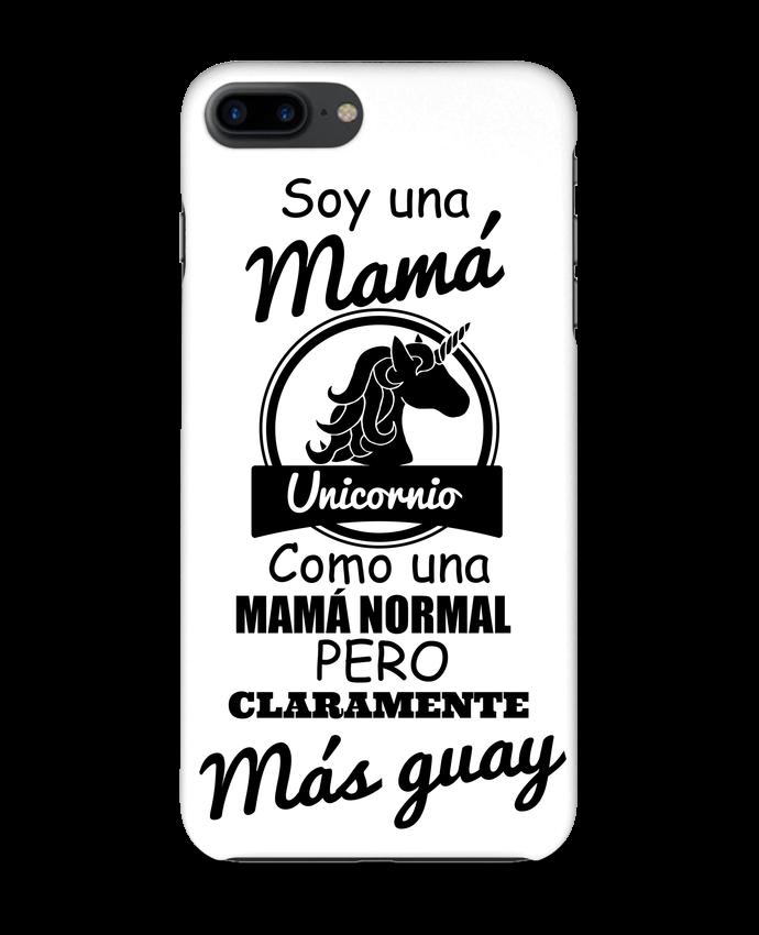 Carcasa Iphone 7+ Mamá unicornio por tunetoo