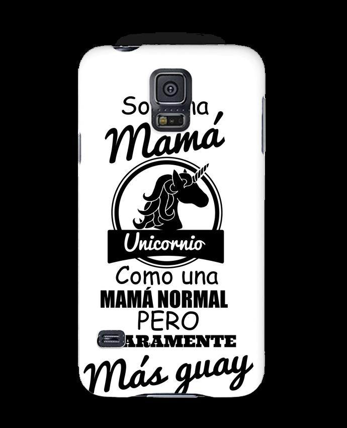 Carcasa Samsung Galaxy S5 Mamá unicornio por tunetoo