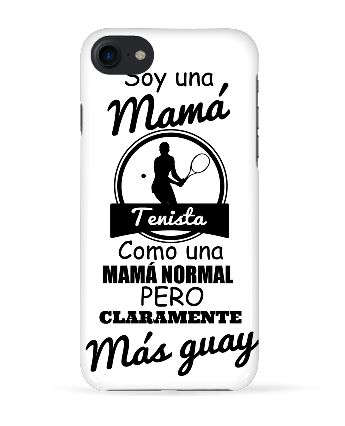 Carcasa Iphone 7 Mamá tenista de tunetoo