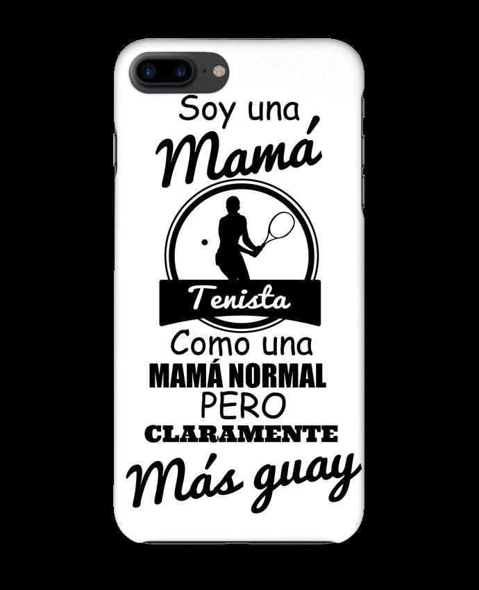 Carcasa Iphone 7+ Mamá tenista por tunetoo