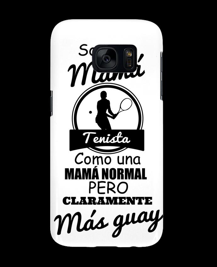 Carcasa Samsung Galaxy S7 Mamá tenista por tunetoo