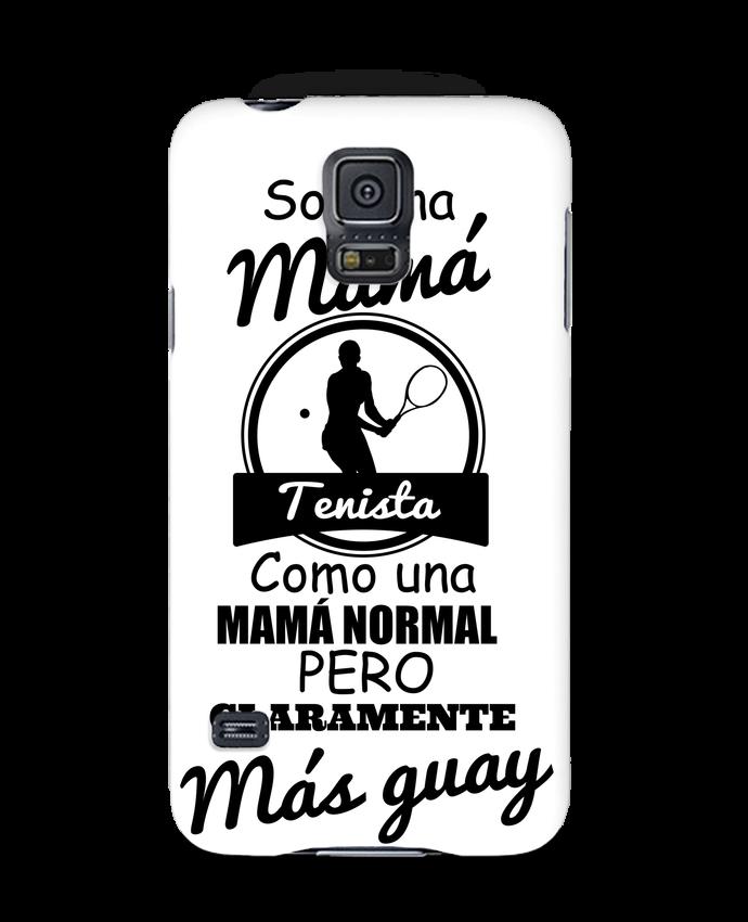 Carcasa Samsung Galaxy S5 Mamá tenista por tunetoo
