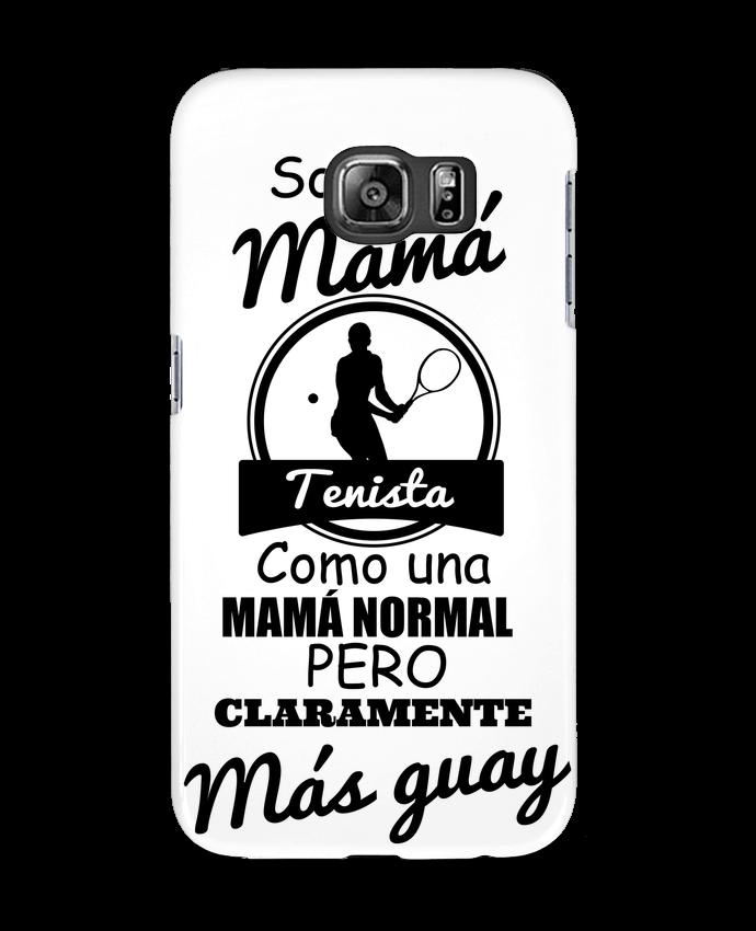 Carcasa Samsung Galaxy S6 Mamá tenista - tunetoo