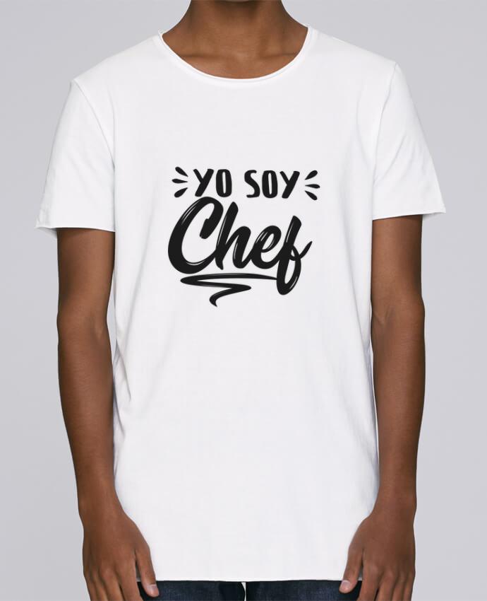 Camiseta Hombre Tallas Grandes Stanly Skates soy chef por tunetoo