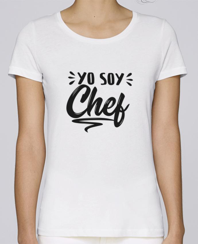 Camiseta Mujer Stellla Loves soy chef por tunetoo