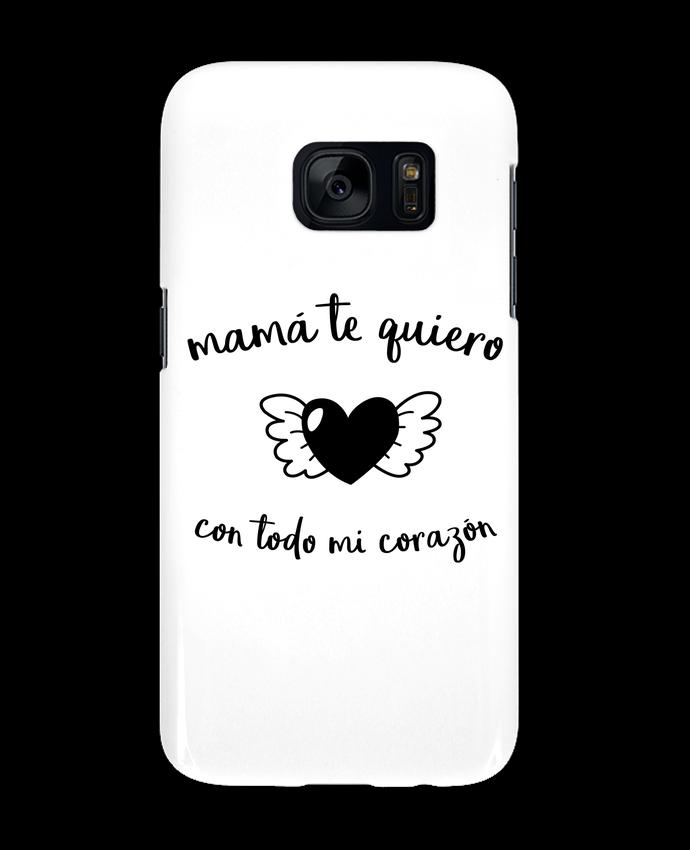 Carcasa Samsung Galaxy S7 con todo mi corazón por tunetoo
