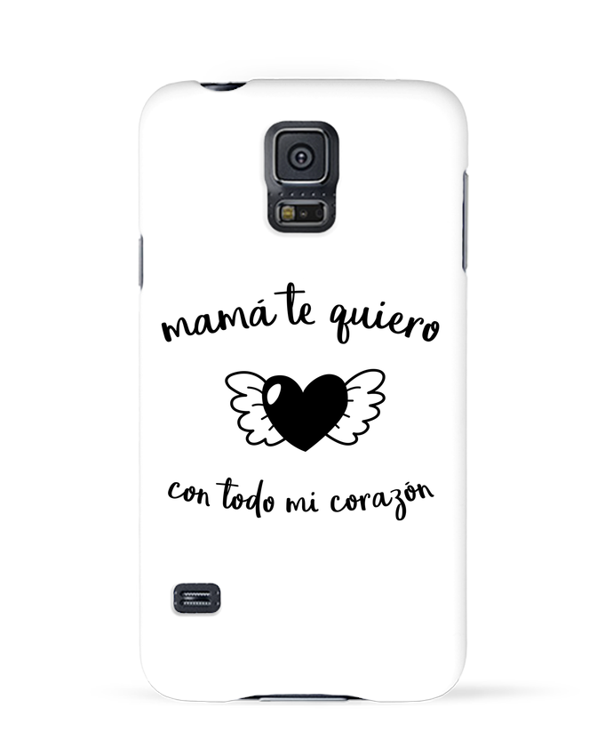 Carcasa Samsung Galaxy S5 con todo mi corazón por tunetoo