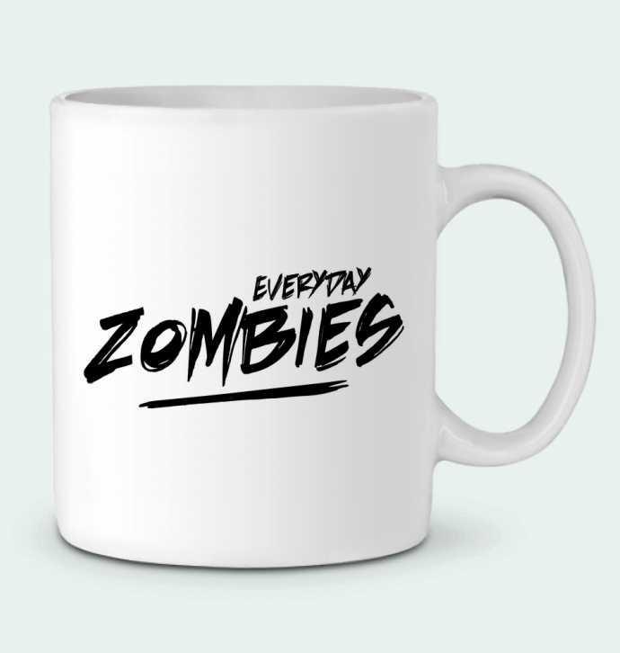 Taza Cerámica Everyday Zombies por tunetoo