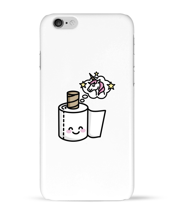 Carcasa  Iphone 6 Unicorn Toilet Paper por LaundryFactory