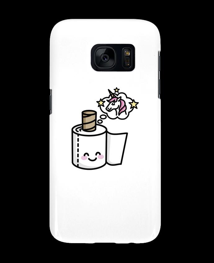 Carcasa Samsung Galaxy S7 Unicorn Toilet Paper por LaundryFactory