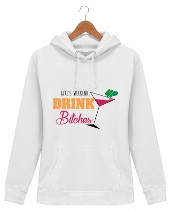 Sudadera Capucha Mujer Girl's weekend, drink up bitches - tunetoo