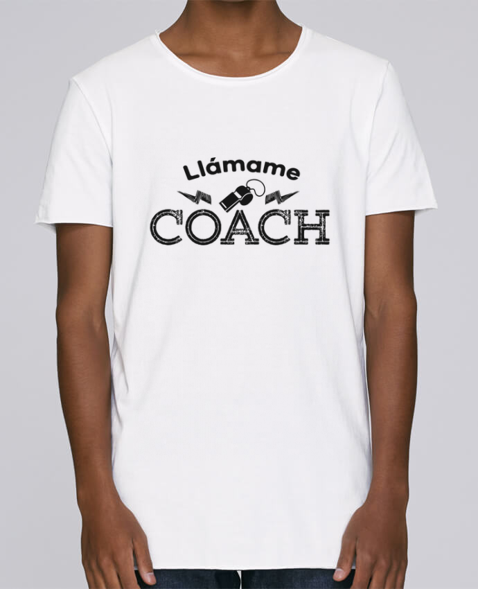 Camiseta Hombre Tallas Grandes Stanly Skates Llámame Coach por tunetoo