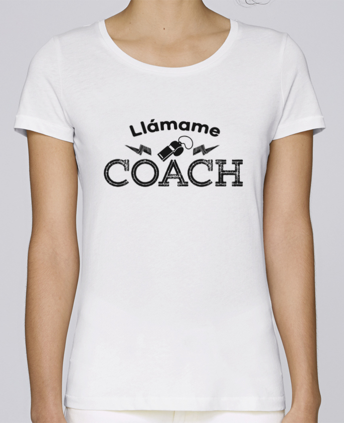 Camiseta Mujer Stellla Loves Llámame Coach por tunetoo