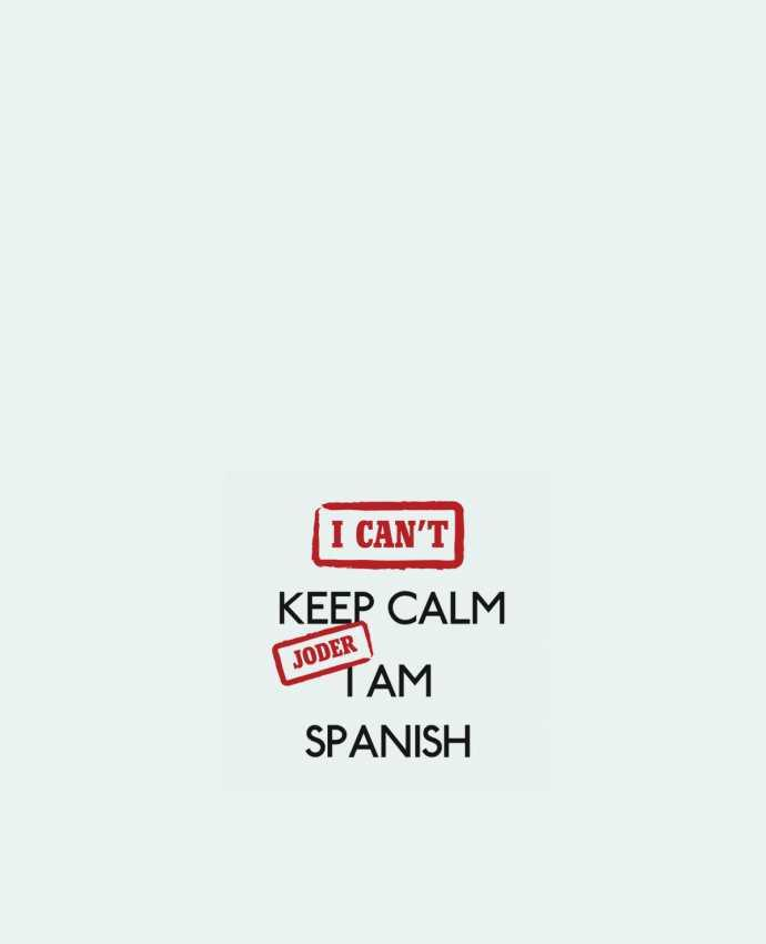 Bolsa de Tela de Algodón I can't keep calm jorder I am spanish por tunetoo
