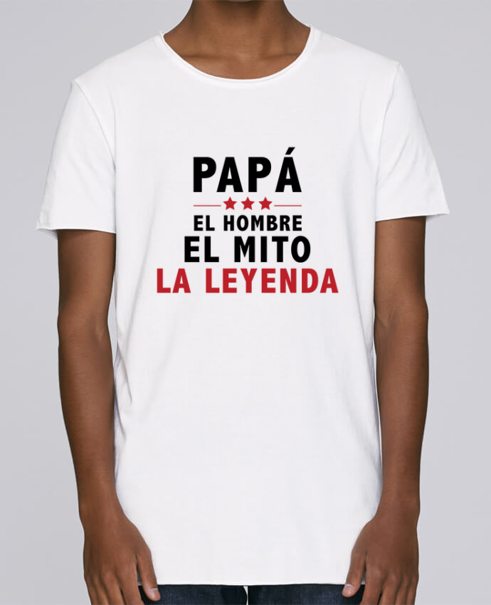 Camiseta Hombre Tallas Grandes Stanly Skates PAPÁ : EL HOMBRE EL MITO LA LEYENDA por tunetoo