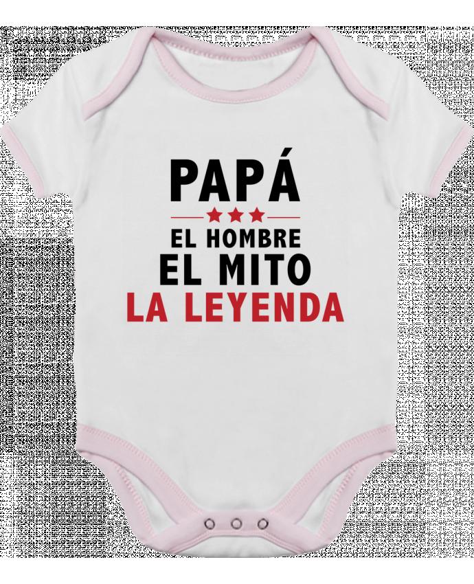 Body Bebé Contraste PAPÁ : EL HOMBRE EL MITO LA LEYENDA por tunetoo