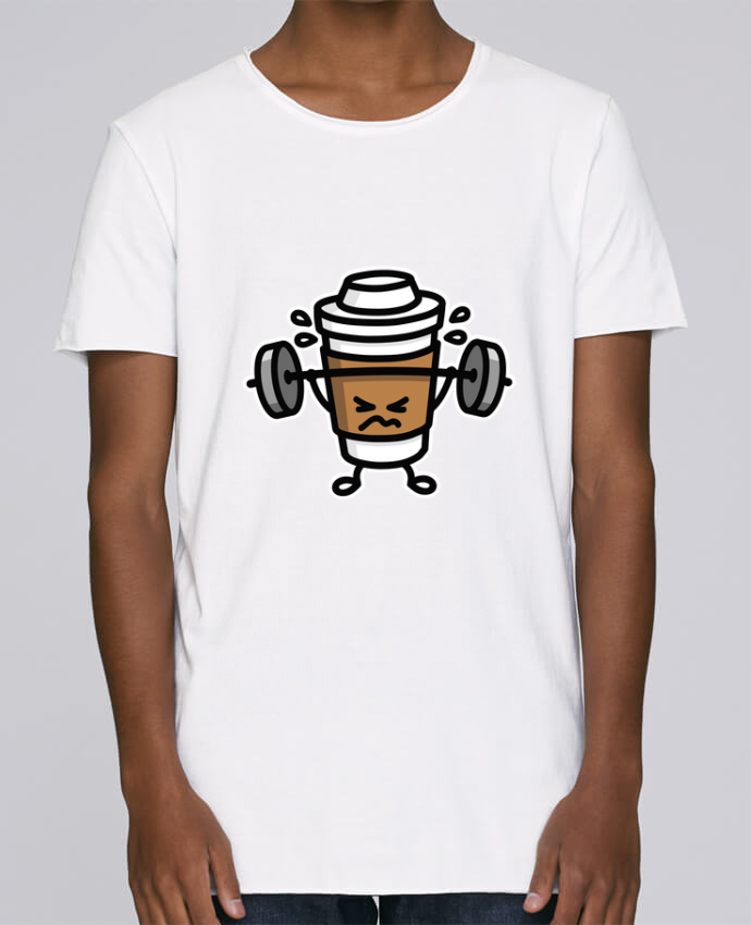 Camiseta Hombre Tallas Grandes Stanly Skates STRONG COFFEE SMALL por LaundryFactory
