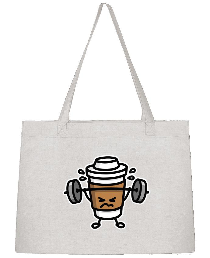 Bolsa de Tela Stanley Stella STRONG COFFEE SMALL por LaundryFactory