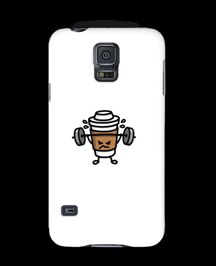 Carcasa Samsung Galaxy S5 STRONG COFFEE SMALL por LaundryFactory