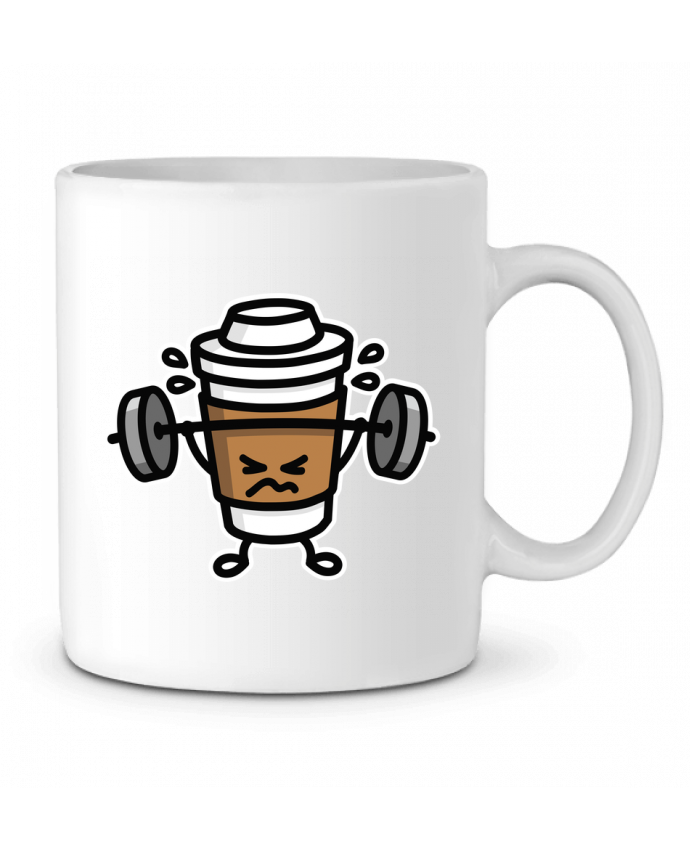 Taza Cerámica STRONG COFFEE SMALL por LaundryFactory