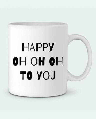 Taza Cerámica Happy OH OH OH to you por tunetoo