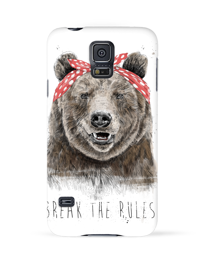 Carcasa Samsung Galaxy S5 Break the rules II por Balàzs Solti