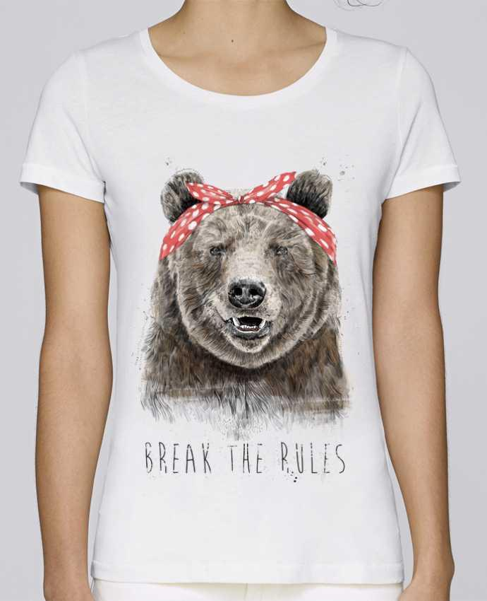 Camiseta Mujer Stellla Loves Break the rules II por Balàzs Solti