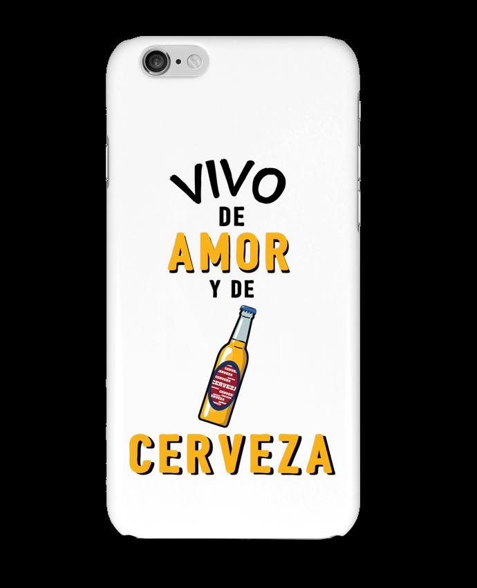 Carcasa  Iphone 6 Vivo de amor y de cerveza por tunetoo