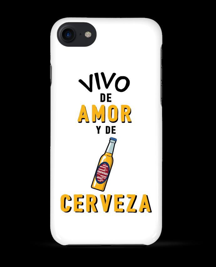 Carcasa Iphone 7 Vivo de amor y de cerveza de tunetoo