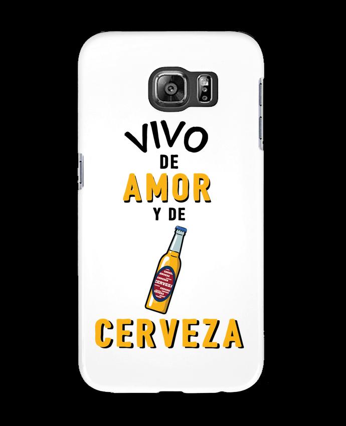 Carcasa Samsung Galaxy S6 Vivo de amor y de cerveza - tunetoo