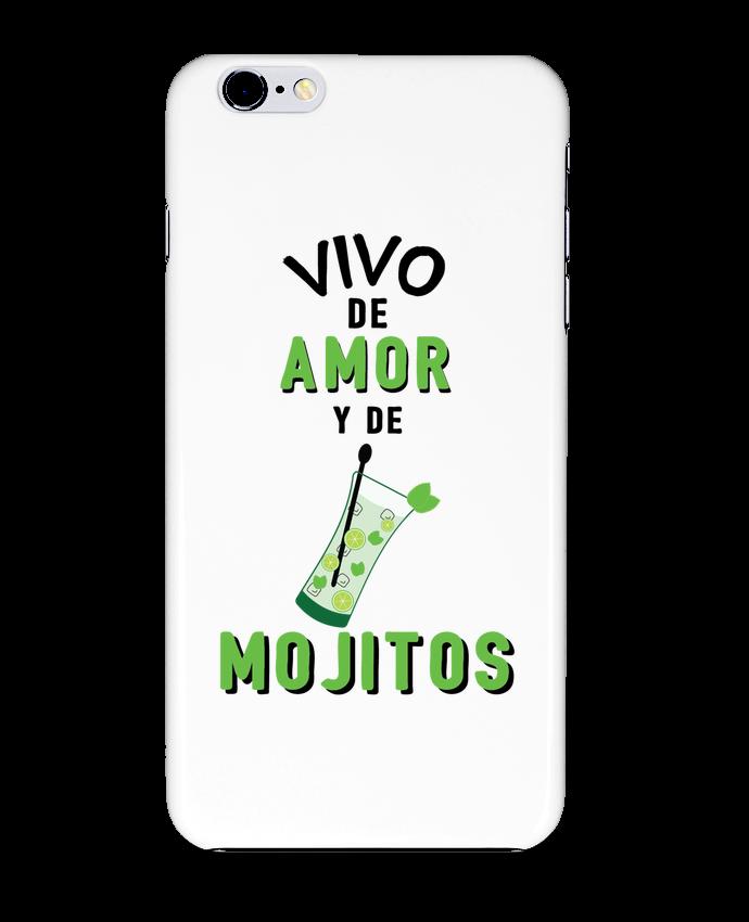 Carcasa Iphone 6+ Vivo de amor y de mojitos de tunetoo