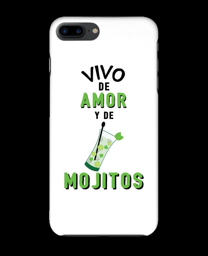Carcasa Iphone 7+ Vivo de amor y de mojitos por tunetoo