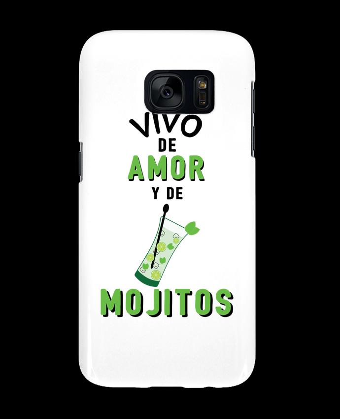 Carcasa Samsung Galaxy S7 Vivo de amor y de mojitos por tunetoo