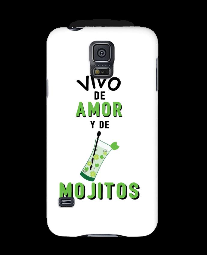 Carcasa Samsung Galaxy S5 Vivo de amor y de mojitos por tunetoo
