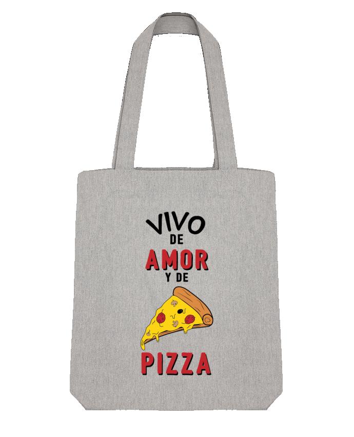 Bolsa de Tela Stanley Stella Vivo de amor y de pizza por tunetoo