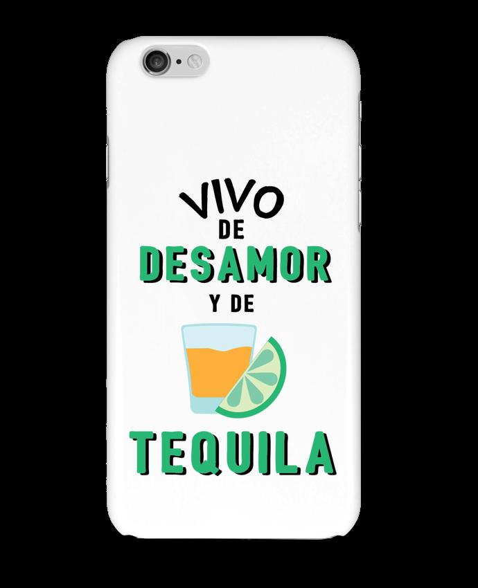 Carcasa  Iphone 6 Vivo de desamor y de tequila por tunetoo