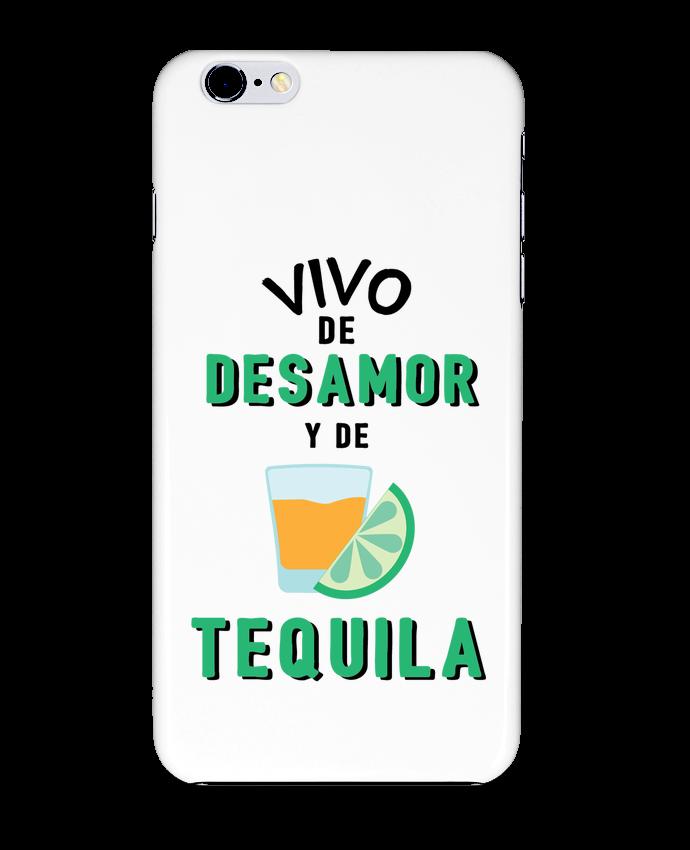 Carcasa Iphone 6+ Vivo de desamor y de tequila de tunetoo