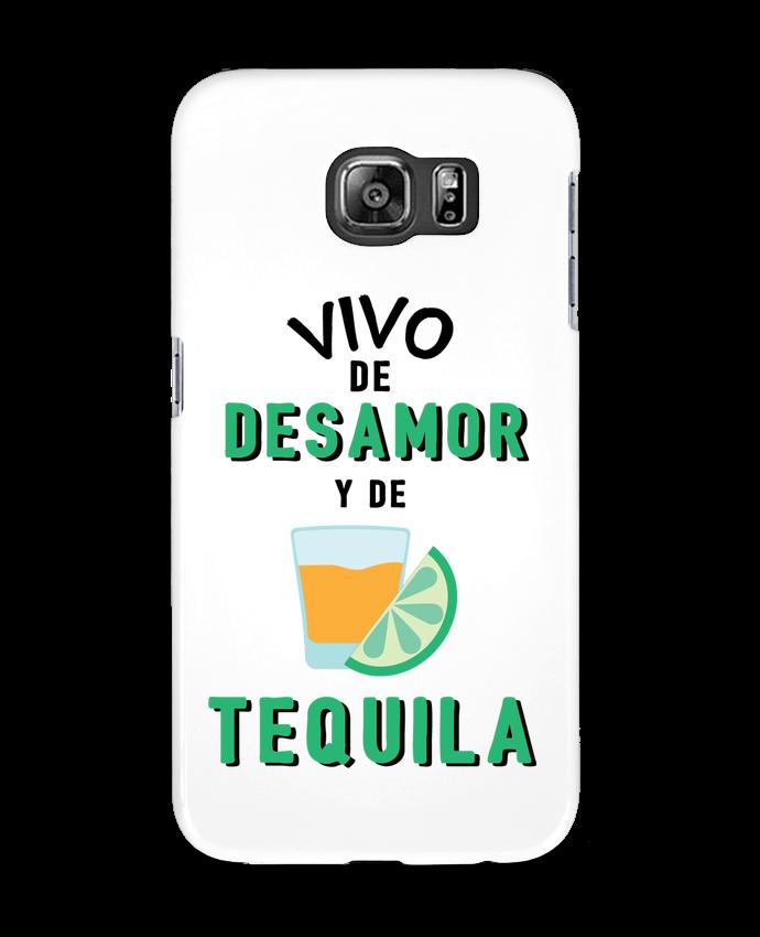 Carcasa Samsung Galaxy S6 Vivo de desamor y de tequila - tunetoo